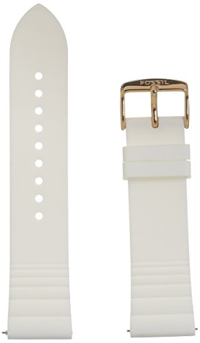 Fossil S221349 22mm Silicone Watch Strap