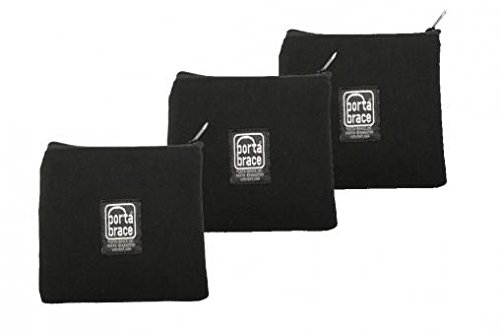 PortaBrace PB-B63 Padded Accessory Pouch, Set of 3, 6