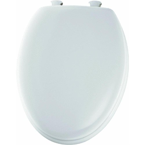 Easy Clean Elongated Toilet Seat