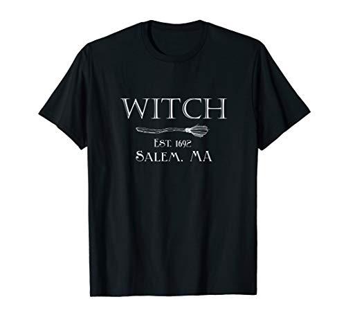 Witch Est. 1692 Salem, MA - Halloween Witch Shirt -