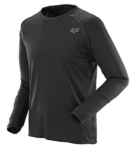 Fox Head Men's First Layer Long Sleeve Jersey, Black, Medium ()