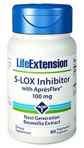 Life Extension - 5-Lox Inhibitor with Apresflex - 100 Mg - 60 Vcaps (Pack of 3)