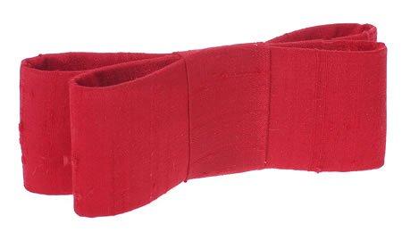 L. Erickson USA Wide Couture Bow Barrette - Silk Dupioni Mad ()