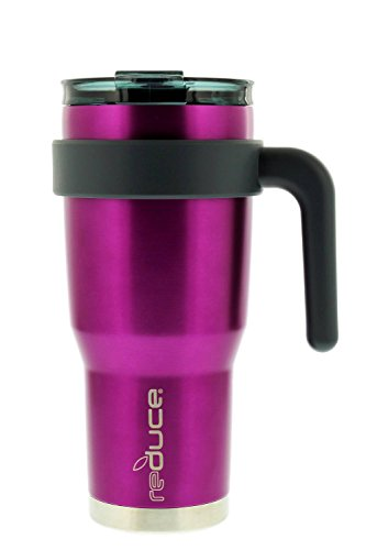 reduce HOT-1 Vacuum Insulated Mug with Slender Base, 3-in-1