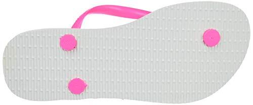Multicolore 8519 Havaianas Femme Tongs shocking Pink Animals Slim white 7xxS8UHf