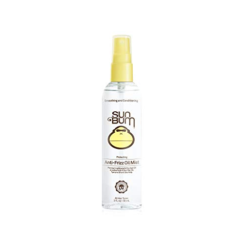 Sun Bum Anti Frizz Oil Mist Spray - Anti Frizz Hair Spray - Humidity Control - Moisturizing - Paraben Free - 3 FL OZ Spray Bottle - 1 Count
