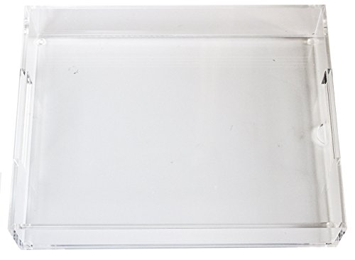 Slot Insert - Lucite Tray with Slot for Custom Insert - Handmade - 8.5 by 11 - With Video Training on Making Creative Inserts for Home or Business