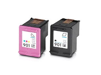 2 cartuchos de tinta para impresora HP Officejet J4580, color ...