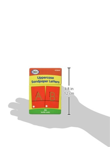 Amazon.com: Didax Educational Resources Sandpaper Letters, Upper ...