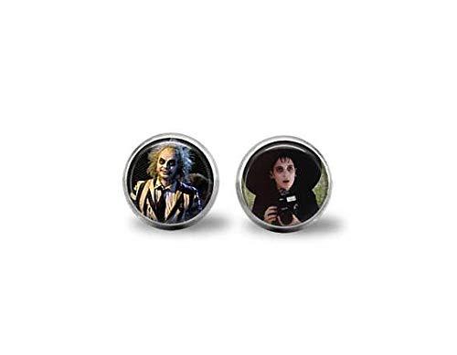 Beetlejuice & Lydia Movie Earrings