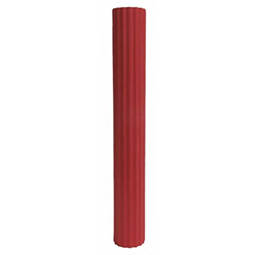 CanDo Twist-n-Bend Bar, Red, Light Resistance