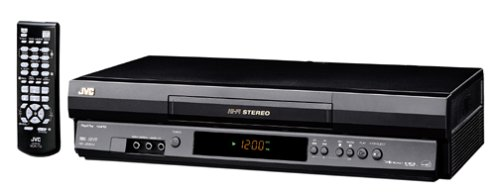 JVC HRJ692U 4-Head Hi-Fi VCR, Black