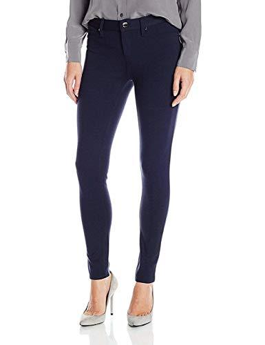 Calvin Klein Jeans Women's 5 Pocket Ponte Legging, Size-10, Classic ()
