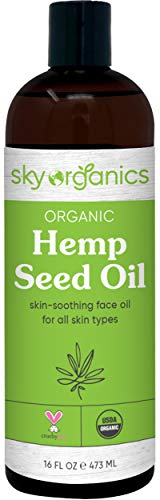 Organic-Hemp-Seed-Oil-by-Sky-Organics-16-oz-Cold-Pressed-USDA-Organic-100-Pure-Moisturizing-Hemp-Oil-Face-Oil-for-All-Skin-Types