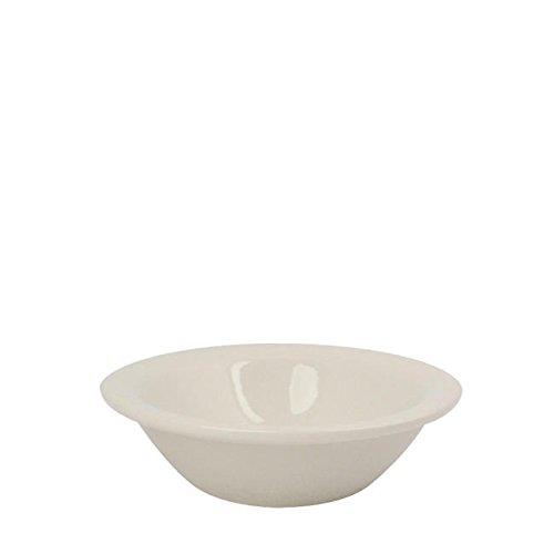 Kingsmen Narrow Rim Fruit Bowl Cream White 4 Oz Cream White Narrow Rim
