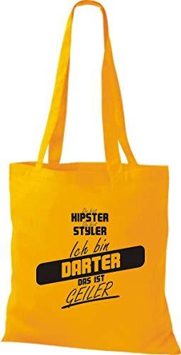 Mujer Bolso Algodón Shirtstown Dorado Amarillo Para De Tela qTdccPwXB