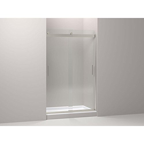 Kohler K-706110-L-NX Levity Rear Sliding Glass Panel and Assembly Kit for Shower ()