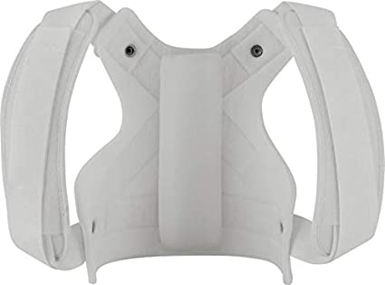 Improves Shoulder Function /& Posture Ossur Front Closure Clavicle Support Large Comfortable Clavicle Support /& Stabilization