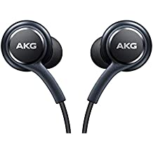 Original Stereo Headphones with in-line Remote & Microphone for Samsung Galaxy S8, S8 Plus S9, S9 Plus Note 8 [Designed by AKG EO-IG955] Grey - Bulk Packaging