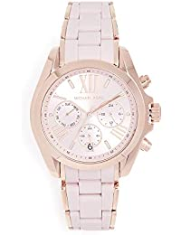 Womens Bradshaw Quartz Stainless Steel Casual Watch, Color:Pink (Model: