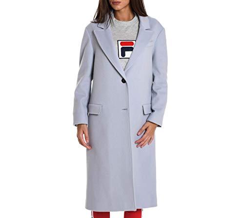 Azul Abrigo 18wpdmiracas266 Mujer Palto' Claro Lana 6Eznx