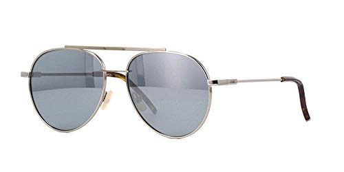 Fendi FF 0222/S Sunglasses col. 6LBT4 Gunmetal /Grey Mirrored lenses New