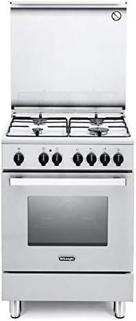 Cocina de gas con horno eléctrico 60 x 60 cm: Amazon.es ...