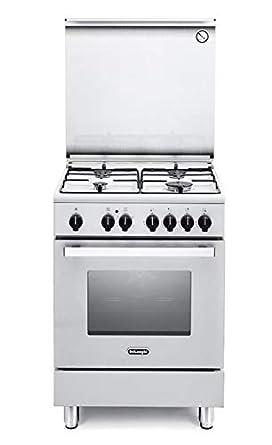 Cocina de gas con horno eléctrico 60 x 60 cm: Amazon.es: Grandes ...
