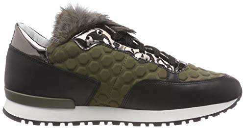 Pollini 85a Grün Sneaker Running Time military Green Donna rS6r0wq