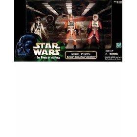 (Star Wars Power of the Force Rebel Pilots Cinema Scene 3-Pack)