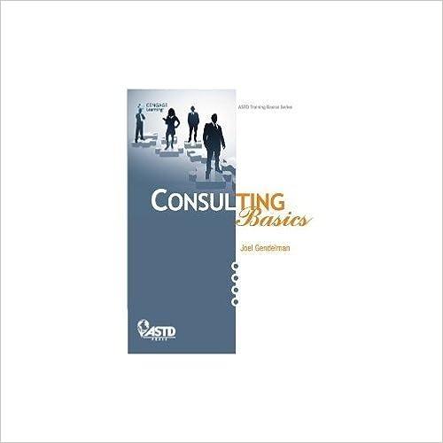 Book Consulting Basics