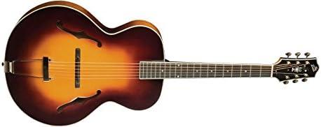 The Loar LH-700-VS Deluxe - Guitarra de arco tallada a mano ...