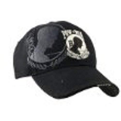 (Gift House Pow Mia Hat - Dual Logo)