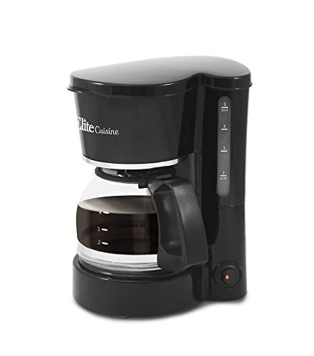 Elite Cuisine EHC-5055 Automatic Brew & Drip Coffee Maker wi
