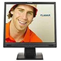 Planar PL1920M 19 LCD Monitor - 1280 x 1024 - Speakers - VGA - Black
