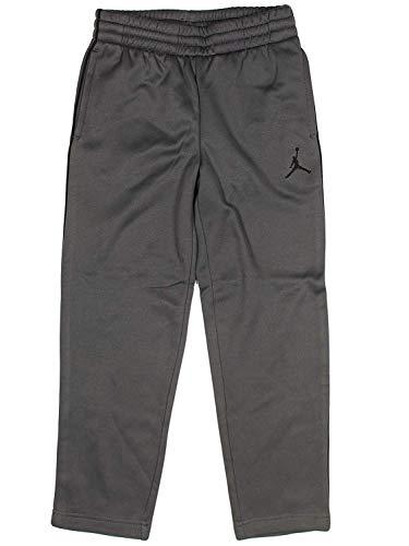 - Nike Jordan Boys Jumpman Therma-Fit Track Warm Up Pants - Grey - Size 6 (6, Grey)