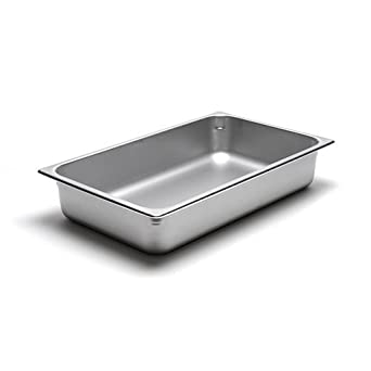 Amazon.com: Calibre 22 sartén mesa de vapor de acero ...