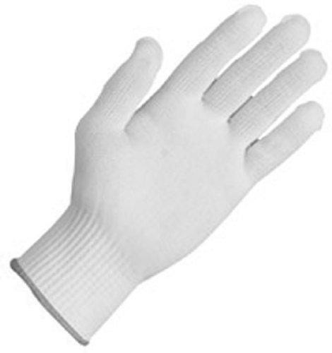 Zenport GN026 10 Gram Tetoron Poly Fiber Full Finger Glove Liners, 12-Pair
