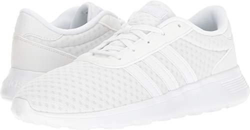 adidas Lite Racer Running Shoe, White, 10.5 M US