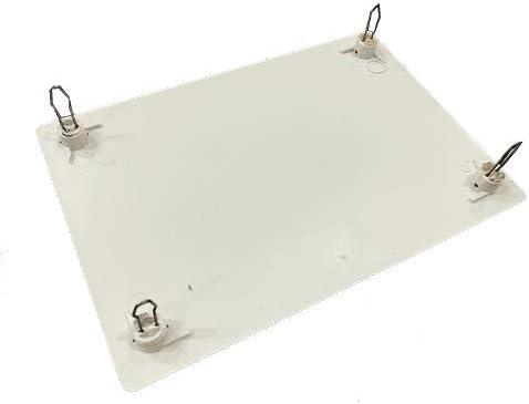 Tapa de caja de registro rectangular de 160x100mm Blanco: Amazon ...