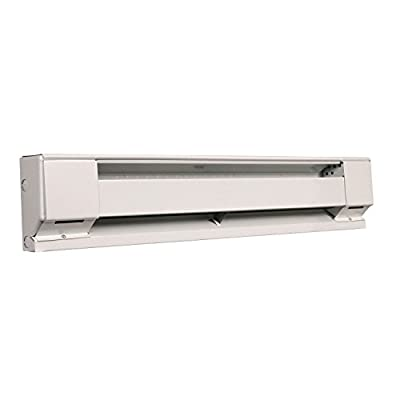 Fahrenheat F25426 240 Volt 500 Watt Electric 30 Inch Baseboard Heater, White