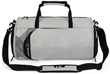 2018 Practical Travel Bag Kaiyitong Fitness Bag Business Fashion Casual Fashion Bag Black Size: 452428cm Color : Pink