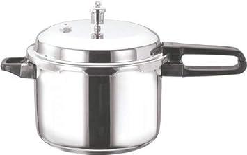 Vinod V-10L Stainless Steel Sandwich Bottom Pressure Cooker, 10-Liter