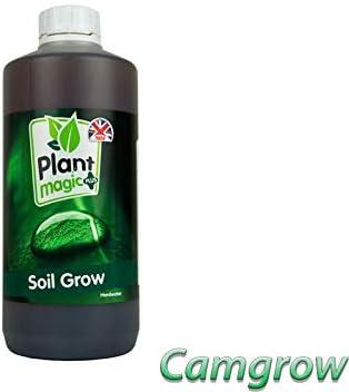 Plant Magic Plus Soil Grow /& Bloom H//W Nutrients Hydroponics Soil Bloom 1L