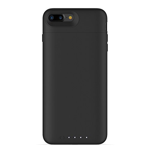 mophie juice pack wireless - Charge Force Wireless Power - Wireless Charging Protective Battery Pack Case for iPhone 7 Plus – Black by mophie (Image #1)