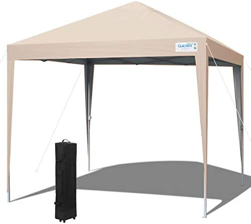 Quictent Upgraded 10×10 Ez Pop up Canopy Tent Portable Gazebo Outdoor Instant Canopy Shelter Waterproof