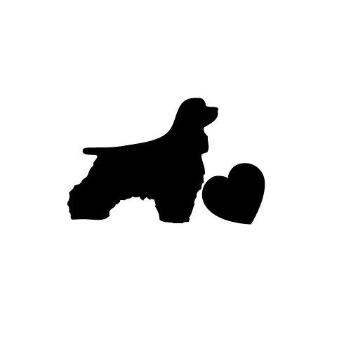(Dog Die-cut Vinyl Sticker Decal (6