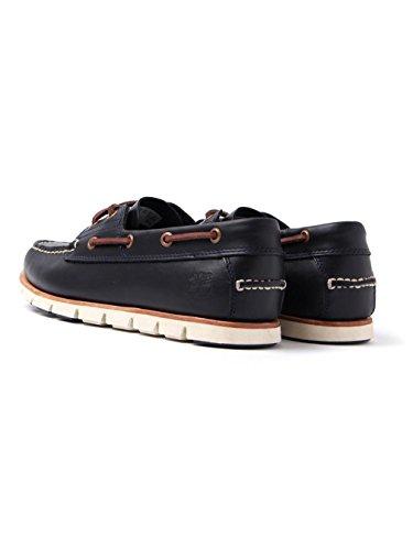 Timberland Tidelands 2 Eye CA1BBU, Zapatos del barco DARK INDIGO