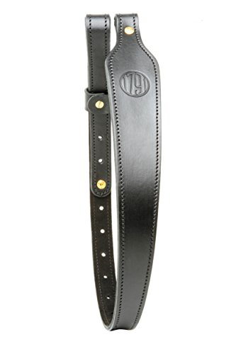 1793 Gunleather Leather Rifle Sling Signature Black