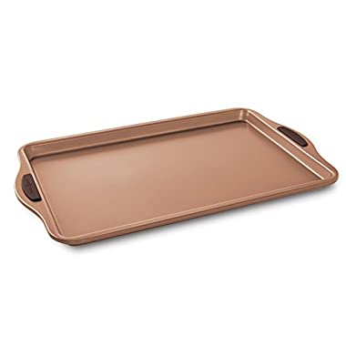 Nordic Ware 48043 Freshly Baked Cookie Sheet, 10  x 15 , Copper